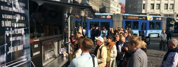 I Helsingfors huserade Henri Allen, restaurang Muru i trucken. En kock med rockstjärnestatus i Finland.