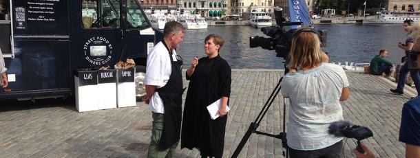 SVT gjorde ett  nyhetsreportage.